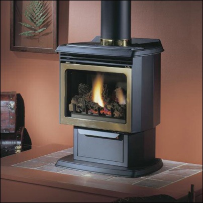 Fairfield Direct Vent Gas Stove - Majestic Fireplaces